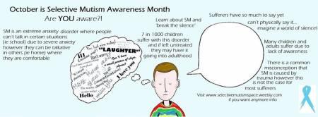 Selective mutism awareness month