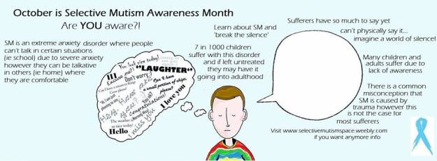 Selective mutism awareness month